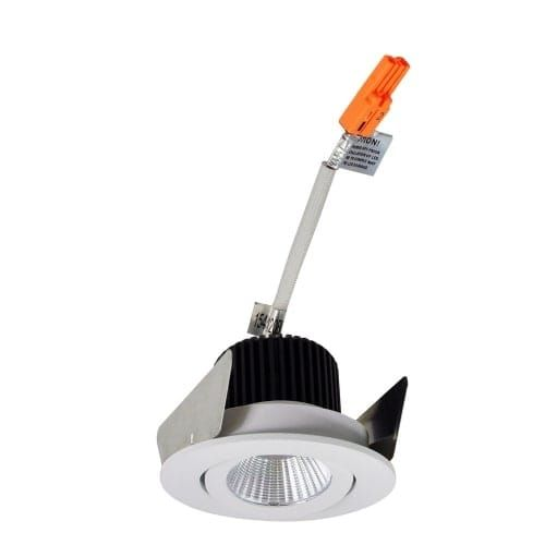 Nora Lighting NIO-2RG27X Iolite 2 LED 2700K Adjustable Recessed Trim (matte powder white) (Aluminum)