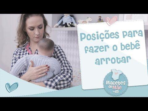 Posições para fazer o bebê arrotar (com uma dica que é infalível!) – Macetes de Mãe