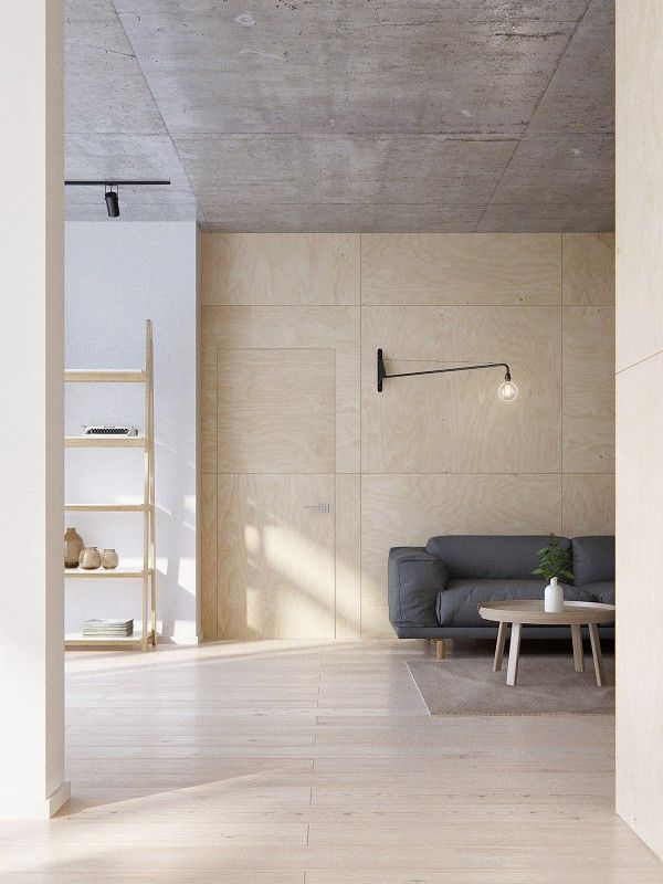 minimalist apartment for a family of four, vladivostok, russia / INT2 architecture