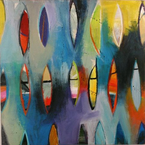 Tory Cowles, abstract art