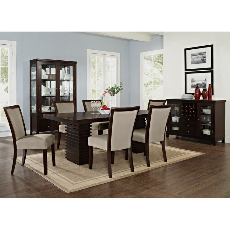 Impressive Value City Furniture Dining Room Sets: Paragon Tango II 7 Pc. Dining Room