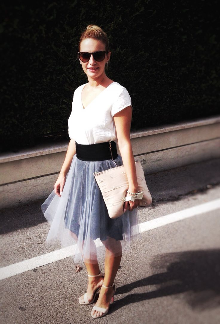 Gonna in tulle! #martafe' #skirt #handmade #myfashion