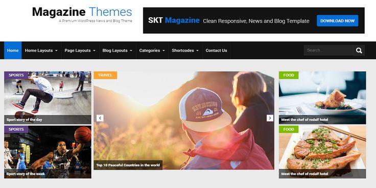 Free News WordPress Themes for News Media Websites