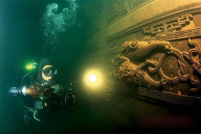 Ancient Underwater City Submerged in China's Qiandao Lake - My Modern Metropolis