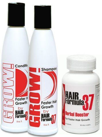 Grow Fast Hair Growth Shampoo & Conditioner PLUS Herbal Booster Hair Vitamins:Amazon:Beauty