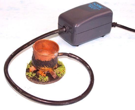 2409-Olla con compresor de aire