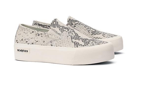 dea0beb1c0f Womens Baja Slip On Platform Sneaker
