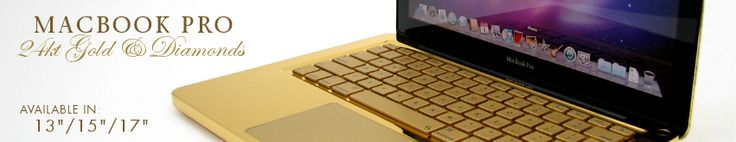 Computer Choppers - Exclusive Customizer of 24kt Gold Macbook Pro, 24kt Gold Macbook Air, 24kt Gold iPhone 3G