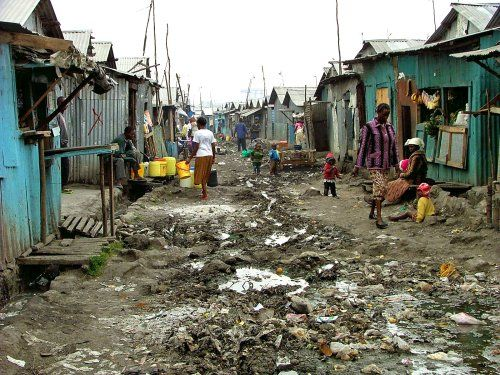 A view of what living in poverty looks like and people who lives off less than a dollar a day.