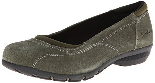 Skechers Women's Career-Girl Friday Flat,Olive,8.5 M US Skechers