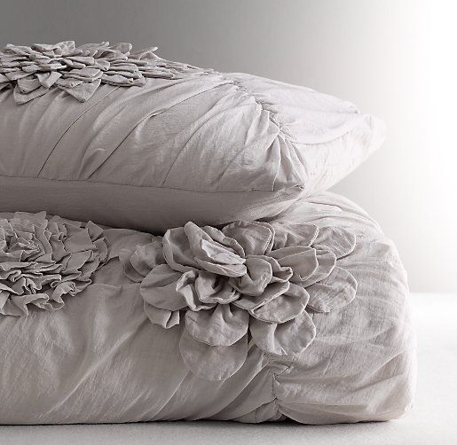 17 best images about bed linen on pinterest white quilts for Duvet covers restoration hardware