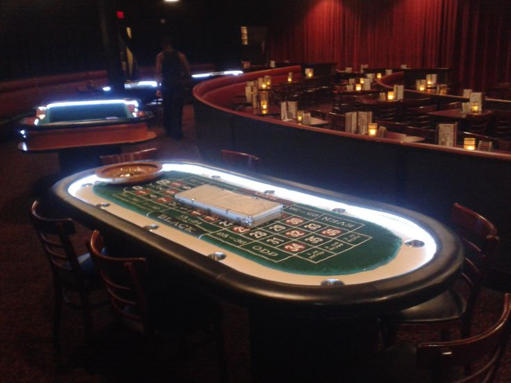 Roulette disco lights