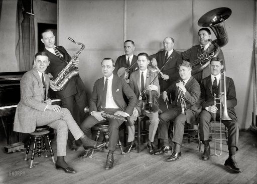 "New York circa 1922. ""Isham Jones Orchestra."" Playing May 7 at Grace Methodist Episcopal."