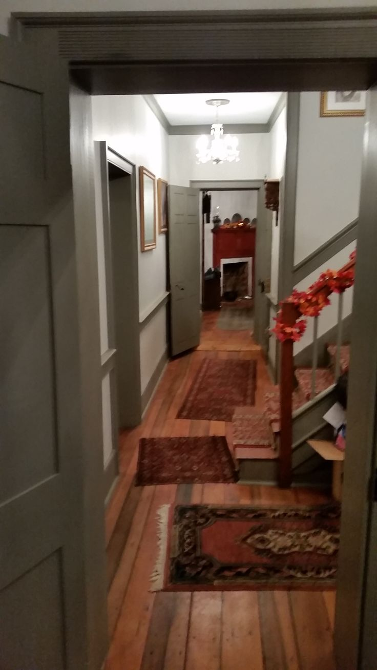 Hallway leading to the ladies rooms - Looking From The Ladies Room Down The Hallway Into The Kitchen Right Past The