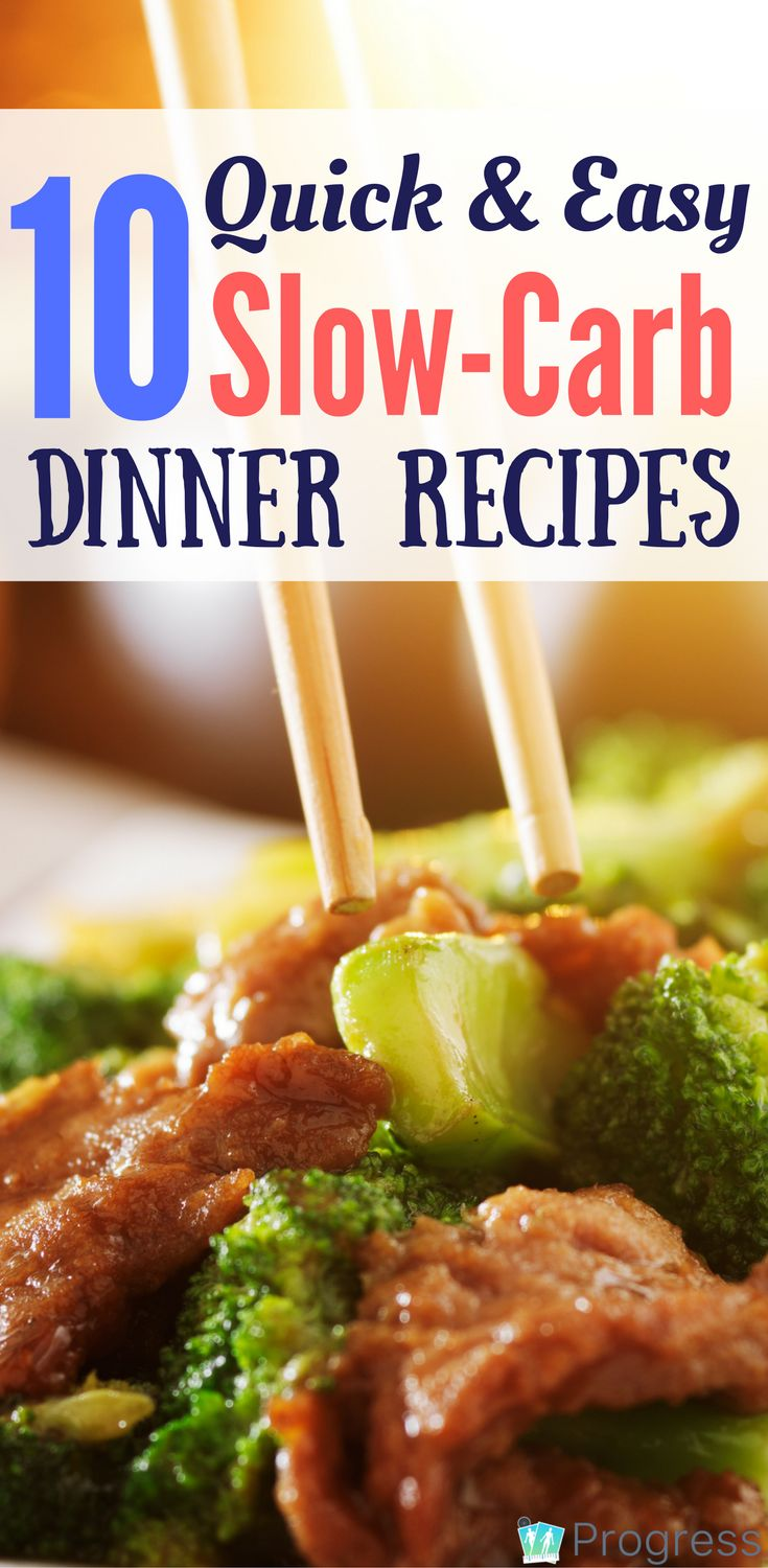 Yum! If you're following the Four Hour Body slow carb diet, check out these tasty recipes for dinner | 4hb | theprogressapp.com
