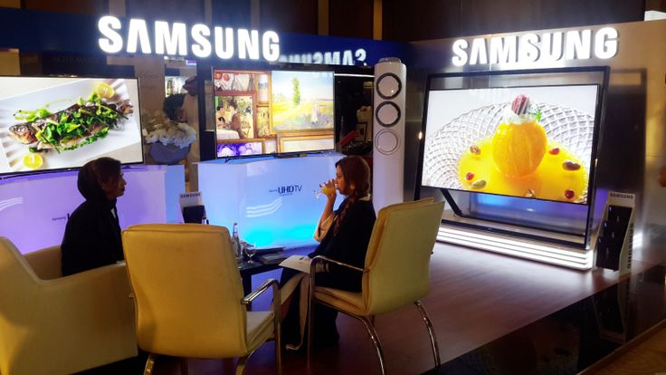 Incredible technology showcased by Samsung