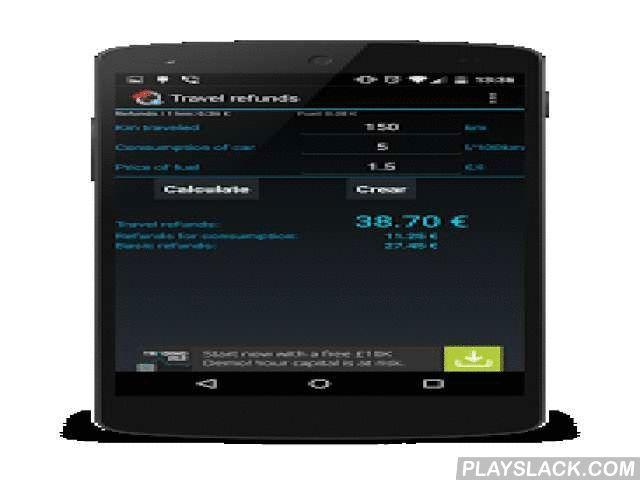 Cestovne Naklady  Android App - playslack.com , Výpočet cestovných náhrad pri použití vlastného vozidla zamestnancom na pracovnej ceste určí výšku náhrady od zamestnávateľa za každý 1 km jazdy plus náhradu za spotrebované pohonné látky.Aplikáciu je možné použiť aj na osobné účely v prípade, že je potrebné rovnomerne rozpočítať náklady na všetkých cestujúcich.Cestovné náhrady pri použití vlastného vozidla:Sumy náhrad za každý 1 km jazdy od 1.1.2009:0,183 EUR - osobné cestné motorové…