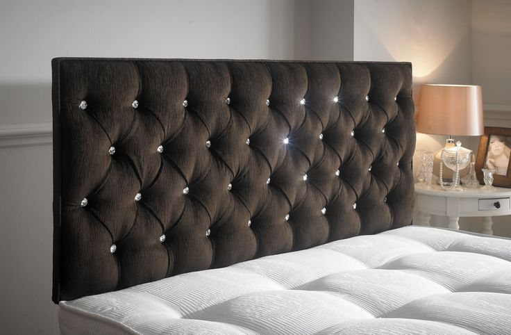 The Savoy Headboard is a decorative headboard. It has inset diamonds put in to it and has a really comfy cushion effect.  It is very eye catching and gives lots of comfort to your bed. This is available in all sizes and colours and is a very popular seller of ours. http://www.chicconcept.co.uk/5144-savoy-headboard-5055157622901.html