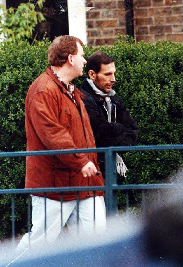 Image result for Freddie Mercury Before He Died Freddie