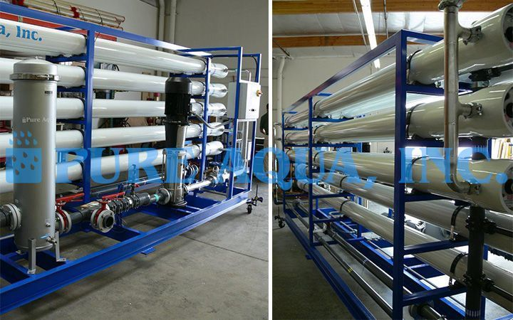 Industrial Reverse Osmosis System For Potable Water Uae Reverse Osmosis Osmosis Reverse Osmosis System