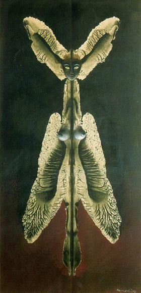 Female spirit of the night - Remedios Varo