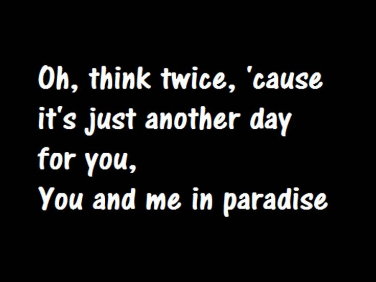 Phil Collins Another Day In Paradise Lyrics this is how it for people out on the streets...STEVE GARLAND...& if you have neve been there...you don't understand it...&everybody else gets it...Everybody...as a matter fact...President Obama...I want my ICE CREAM NOW!!!