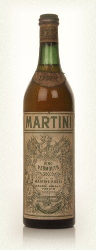 Martini Dry - 1920s(!)