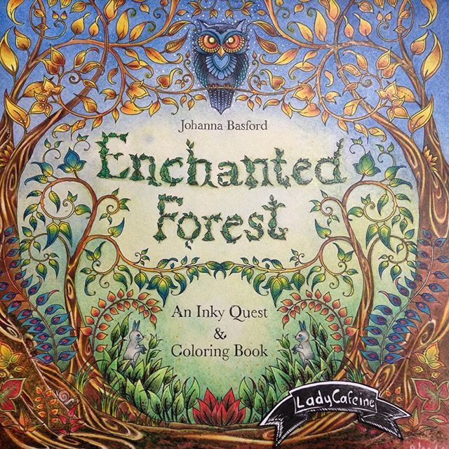 540 Best Coloring Book Enchanted Forest Images On Pinterest