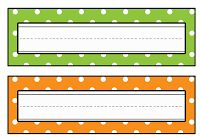 Cute desk name plates to print for back to school! desk dec| creative name tags