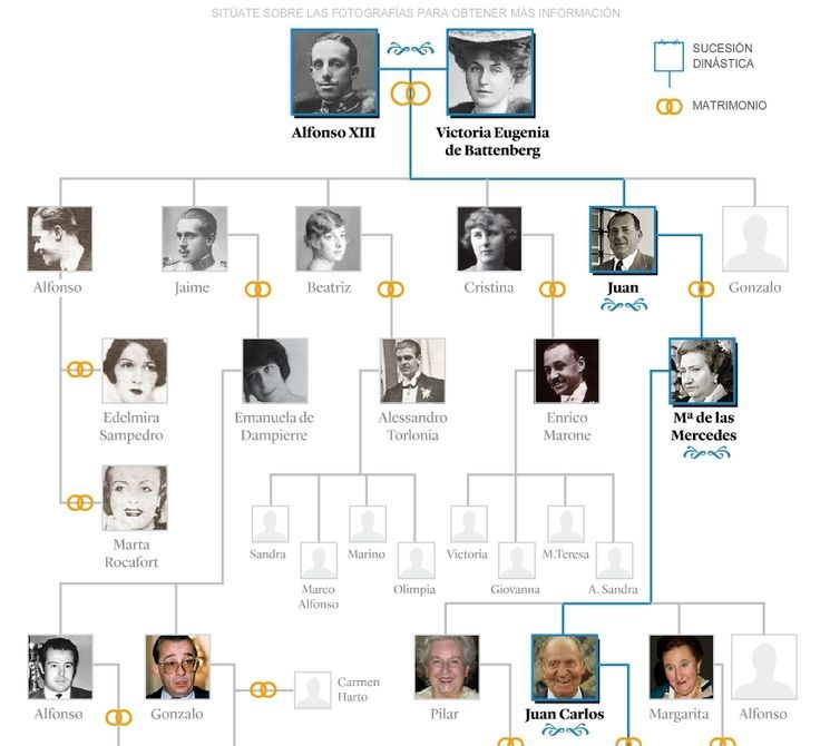 Resultado de imagen de dinastia borbonica en españa arbol genealogico