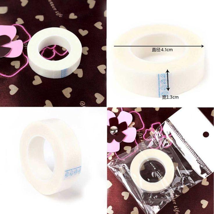 Professional 5pcs eyelash extension lint free eye pads white silk under patches for false eyelash patch
