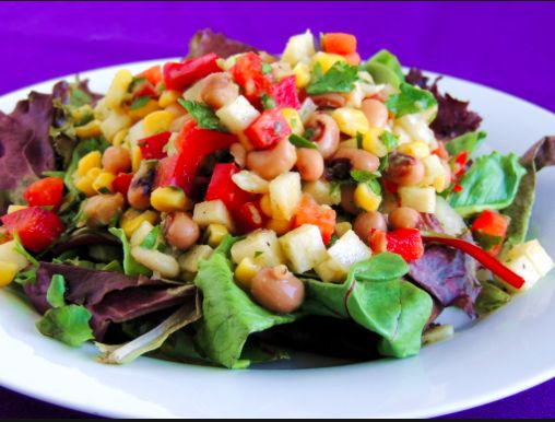 Texas Caviar Salad:  If you have leftovers from your Texas Caviar recipe, make a quick salad with iceberg lettuce, tomatoes, avocado, and maybe some queso fresco on top.  It will disappear.