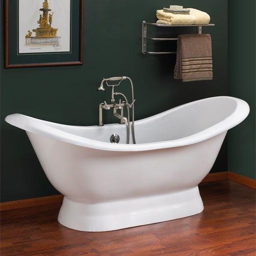 Salem Cast Iron Double Slipper on Additionl bathtub possibility $1400