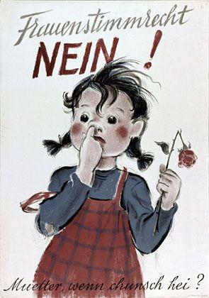 Kampf ums Frauenstimmrecht - SWI swissinfo.ch