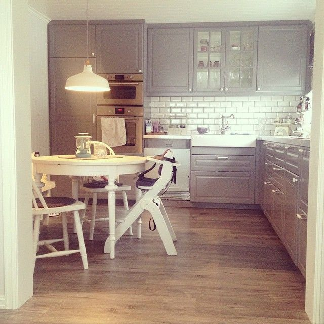 Ikea section bodbyn kitchen cabinets