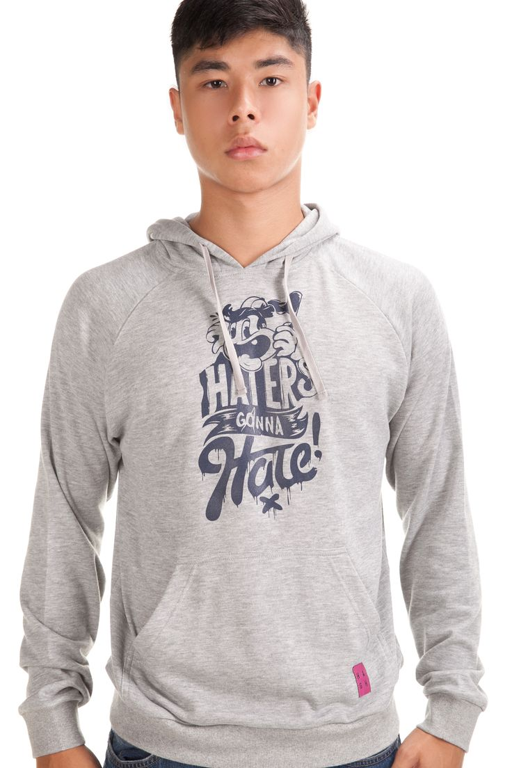 Hater Hoodie Melange Rp. 399,000 Available in S, M, L and XL