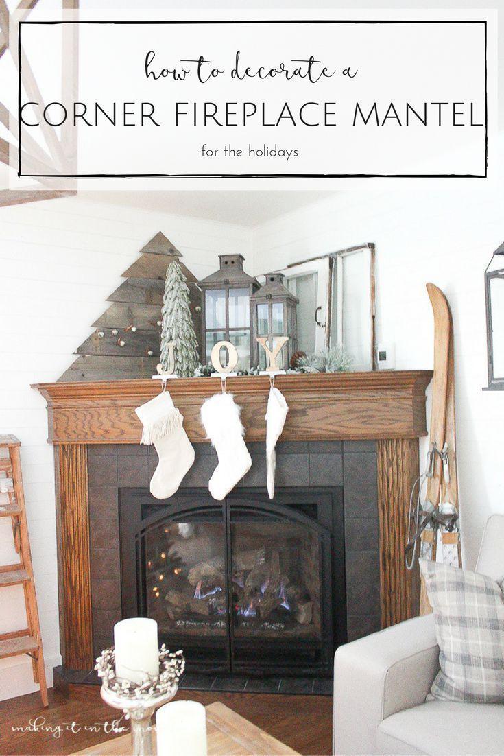 Decorate A Corner Fireplace Mantel