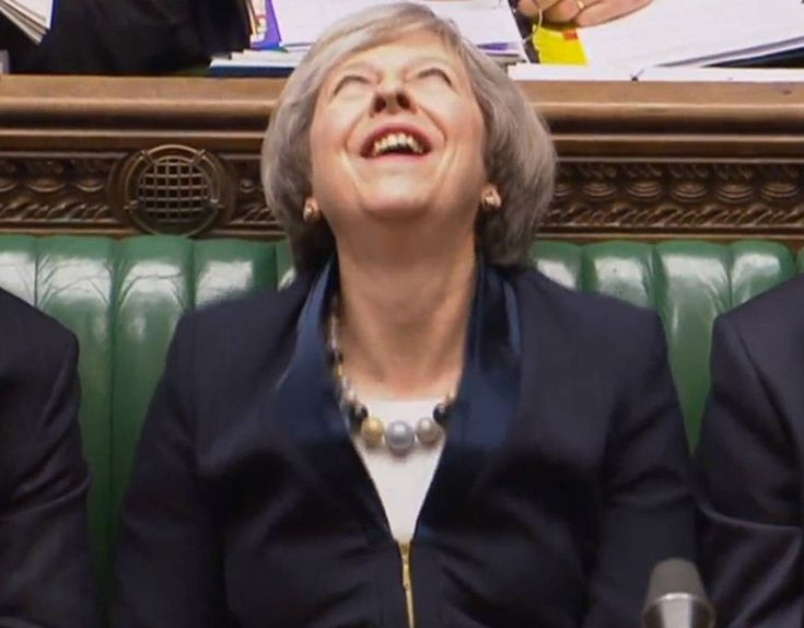 WATCH: Moment Theresa May EXPLODES with laughter at Corbyn jibe during PMQs - https://newsexplored.co.uk/watch-moment-theresa-may-explodes-with-laughter-at-corbyn-jibe-during-pmqs/