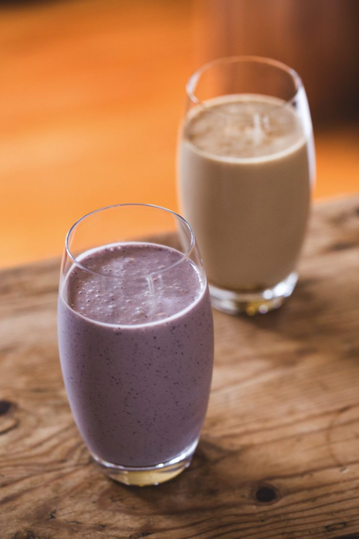 Healthy yummy breakfasts by Aaron Brunet from Masterchef – 2 Super smoothies, coffee   raspberry chocolate – NZF June/July 2014