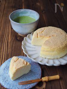 瞬溶け!お豆腐チーズケーキ