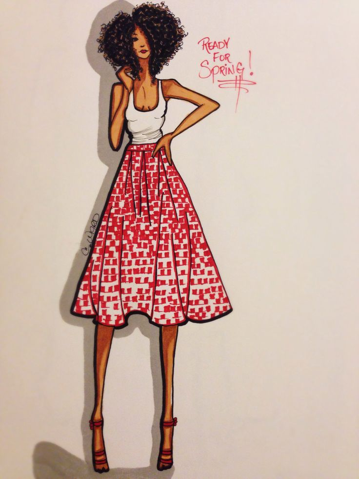 Ready for Spring! #fashion #sketch #illustration