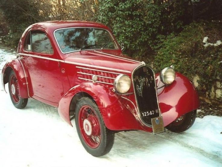 1935 Fiat 508 S BALILLA BERLINETTA 1000 MIGLIA for sale - Classic car ad from CollectionCar.com.