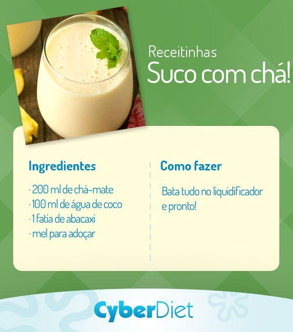 Aposte no poder diurético do abacaxi e dos benefícios do chá-mate para trazer mais saúde para o seu dia! http://maisequilibrio.com.br/mate-a-sua-sede-de-cha-5-1-4-458.html?origem=Pinterest