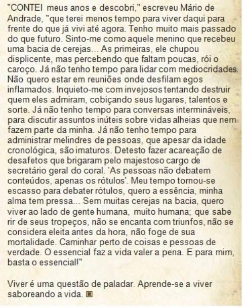 Sábio Mario de Andrade.