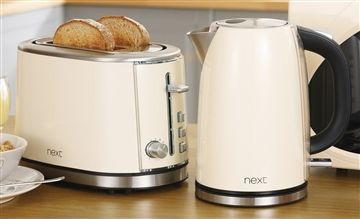 Buy Next Twin Pack Kettle And Toaster Set from the Next UK online shop @Next #next #nextluckyminute #NLM #win #wish #wishlist #wishboard #virtualshopping #love #girls #family #daughters #man #woman #highstreet #shopping #500 #lucky #ifOnly  Kitchen love!