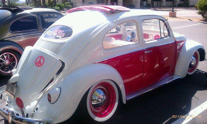 VW - White & Pink!