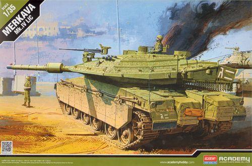 Merkava Mk.IV LIC. Academy, 1/35, injection, No.13227. Price: 29,70 GBP.