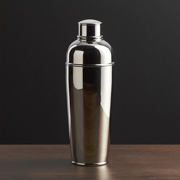 Easton Stainless Steel Cocktail Shaker - Crate and Barrel