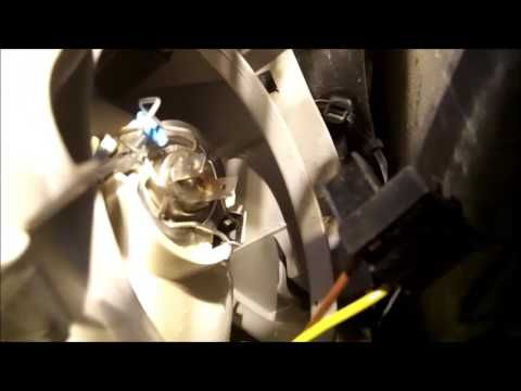 Mercedes W203 h7 headlight bulb replacement