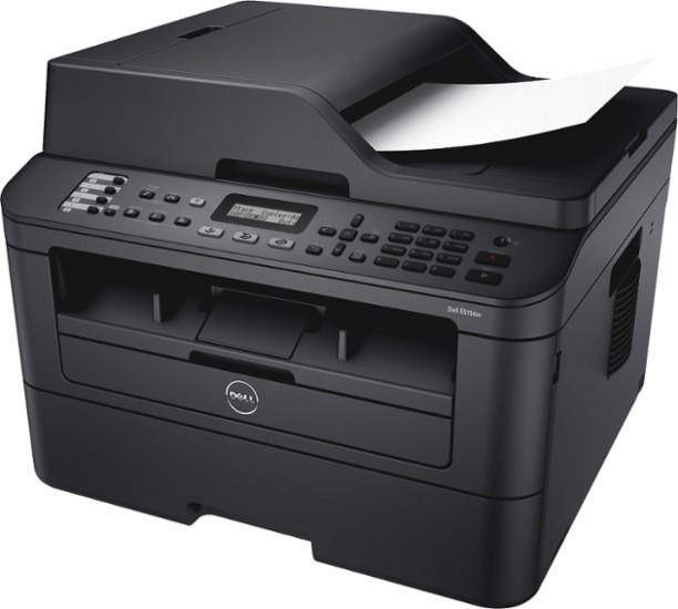 Dell - E515dw Wireless Black-and-White All-In-One Laser Printer - Black $75 (Visa Checkout) Best Buy